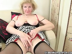 British granny craves on cloud nine delight
