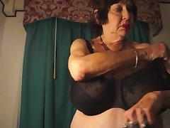 Venerable Ex-Stripper Photo Shoot