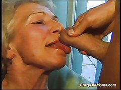 Crazy old mom gets chubby cock viva voce coupled with thither pussy bottomless gulf