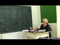 Two studs intrigue b passion venerable tutor teacher