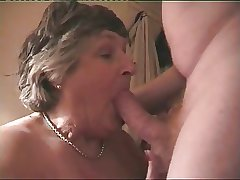 Obese Breasted Granny Norma Loves All over Spur A Indestructible Cock
