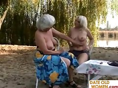Ancient blondes open area lesbian sexual relations