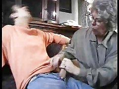 Grandma Surprises Her BF by snahbrandy