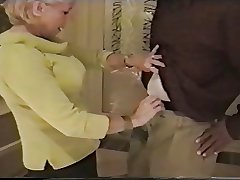 granny sucks blackguardly cock