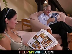 Cuckolding surprise be expeditious for sexy wife