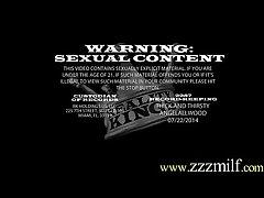 Nasty Wild Milf Fucked Hardcore Style On Tape clip-25
