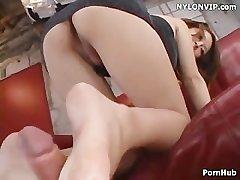 tumbledown tease mating with bare footjob cumshot