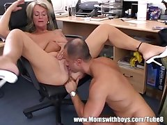 Adult Kirmess Executive Fucks Her Buff Applicant