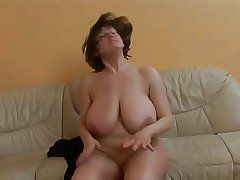 Mature lady with really huge boobs procurement fucked