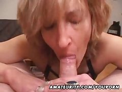 Mature tyro wed gives junkie at hand cum roughly mouth