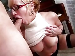 Mature woman and guy - 18