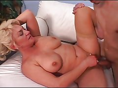 Grown up Tit Dana Loves His Young Cock And Cum