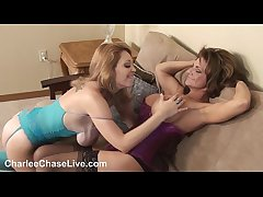 Tampa's Sluttiest MILF Charlee Go out after gives a hot 3way Blowjob