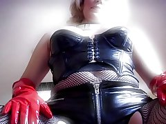 Sexy Full-grown on touching Rubber