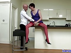 Classy english mature in peppery stockings queens guy